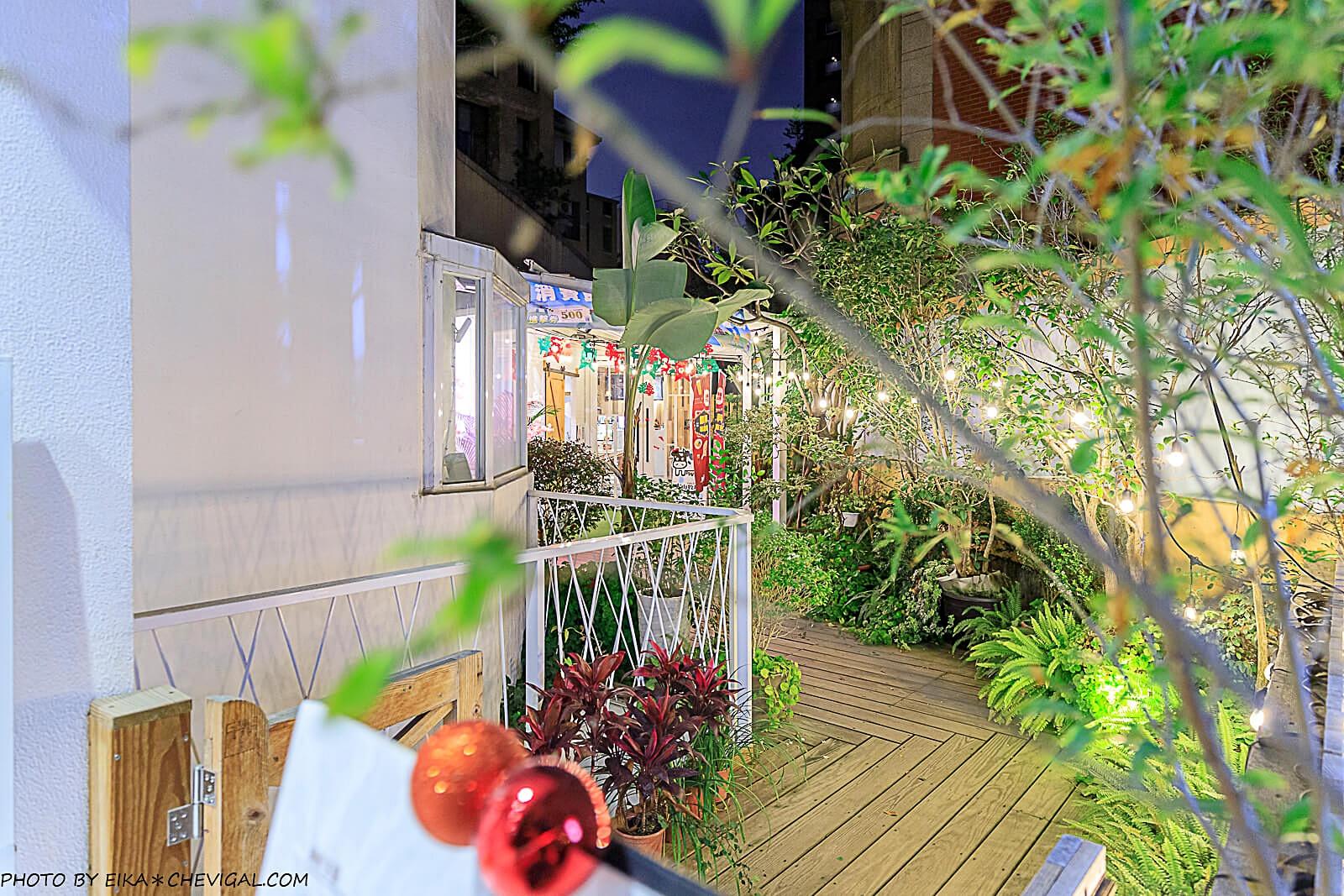 20201227230845 47 - 熱血採訪│台中秘境咖啡廳,綠意庭園搭配美麗燈泡好浪漫,還有麵食、披薩與炸物可以享用!