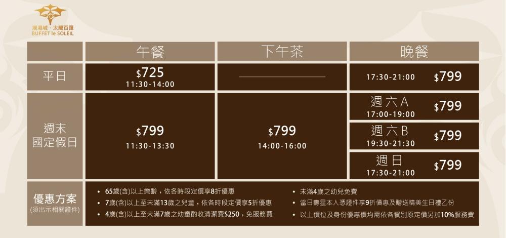 潮港城菜單